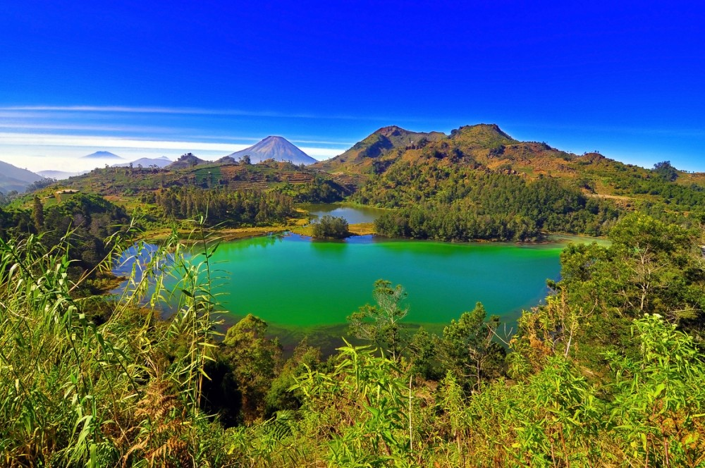 The Landscape of Dieng Plateau © Rayhan Cygnus