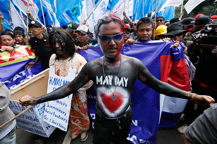 May Day in Indonesia